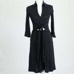 DVF A-Line Button up Dress